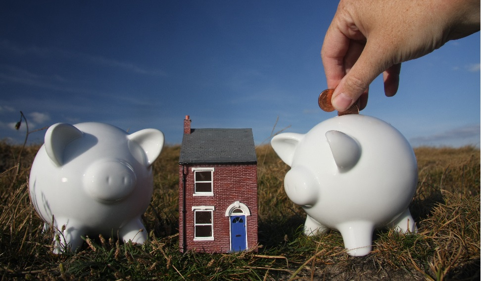 Putting away savings for a home
